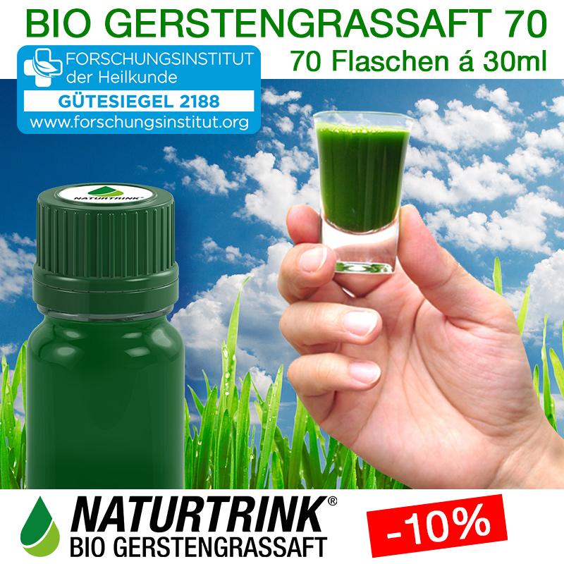 NATURTRINK BIO GERSTENGRASSAFT 70